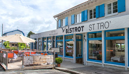 Découvrez les spécialités du restaurant Le Bistrot St Tro' Sur l'île d'Oléron