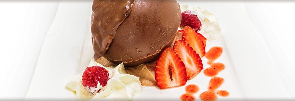 Dessert gourmand chocolat
